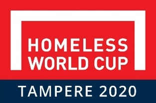 Homeless world cup Tampere 2020 logo